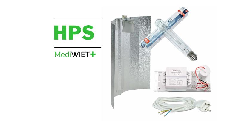 HPS Kweeklampen voor het kweken van medicinale wiet.