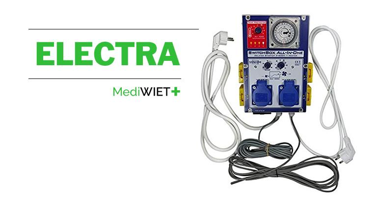 Goed en veilig geregelde electra is onmisbaar bij het kweken van uw eigen medicinale cannabis.